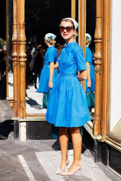Warning: Natalie Joos' Cute Style Might Make You Want To Go Vintage Shopping Immediately
