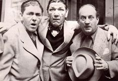 The Three Stooges The Three Stooges, The Stooges, Hollywood Stars, Classic Hollywood, Funniest Pictures Ever, Comedy Acts, 70s Tv Shows, Great Comedies, The Way I Feel