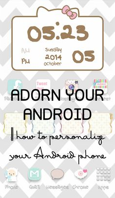 how to add cute folders onto your screen instead of plain boring ones that come with your phone Wallpaper App, Wallpaper For Your Phone, Android Technology, Android Apps, Screensavers For Android, Samsung Galaxy S5, Samsung Cases, Phone Backgrounds, Wallpaper Backgrounds