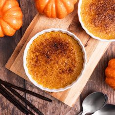 Try our delightful Pumpkin Crème Brûlée using Sugar In The Raw® and Stevia In The Raw®. Fancy Desserts, Delicious Desserts, Dessert Recipes, Yummy Food, Baking Desserts, Dinner Recipes, Thanksgiving Desserts, Holiday Desserts, Holiday Baking