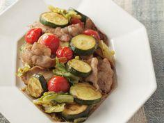 ズッキーニと豚肉のバルサミコ酢炒め レシピ 講師は松本 忠子さん|使える料理レシピ集 みんなのきょうの料理 NHKエデュケーショナル
