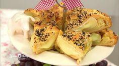 Gebackener Camembert im Blätterteig