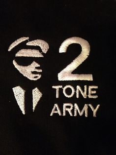 2 Tone Army Embroidered Twin Tipped Polo Shirt