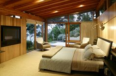 Island Complex | Bossley Architects | Archinect. If only the TV were behind closed doors!