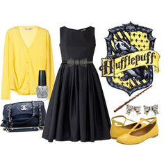 Hufflepuff date fashion