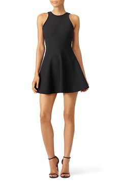 Black Britt Dress by Elizabeth and James for $65   Rent the Runway