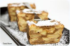 Once upon a time . Sweet Recipes, Snack Recipes, Dessert Recipes, Snacks, Mousse Au Chocolat Torte, Apple Deserts, Best Sweets, Thermomix Desserts, Just Cakes