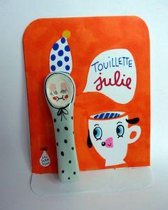 "Lili Scratchy ""Touillette Julie"""