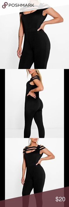 New Boohoo Sexy Jumpsuit Size 14 Brand new from U.K. Never worn. Size 14. Boohoo Other