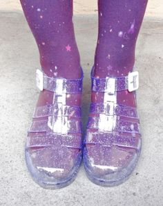 jelly sandals by JUJU