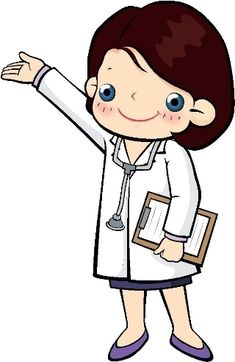doctor cartoon clip art clipart free clipart illustration rh pinterest com doctor clipart images medical doctor clipart free