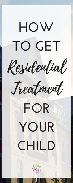 How to Get Residenti