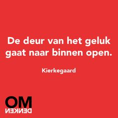 Quotes about Happiness : Omdenken Happy Quotes, Me Quotes, Dutch Words, Worth Quotes, Dutch Quotes, One Liner, Great Words, More Than Words, Quote Posters