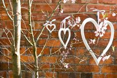 decorating pews for weddings | ... carved painted letters to create a statement in your wedding venue
