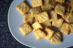 parmesan cream crackers | smittenkitchen.com