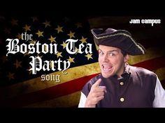 The Boston Tea Party Song (Parody of Pharrell Williams - Happy) - YouTube