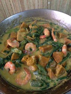 Ginataang Kalabasa At Sitaw (Squash & String Beans in Coconut Milk)