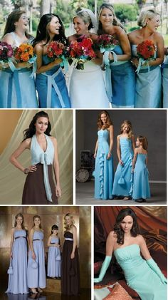 Chocolate Brown & Tiffany Blue Wedding Ideas | Tiffany blue ...