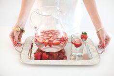 Make delicious Strawberry Water - Fashionable Hostess | Fashionable Hostess