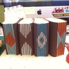 Tribal Series #handmade #notebook by #vitarlenology #bookbinding by vitarlenology, via Flickr