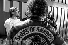 Sons of Anarchy  | Since this shot has a bit of a horror vibe, when does Hunnam find Jax most frightening? ''A lot of the really scary people that…