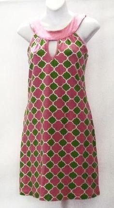 New York and Company Cotton Green Dress Size Petite Medium Pink And Green Dress, Green Summer Dresses, Aka Sorority, Sorority Life, Everything Pink, New York And Company, Tee Dress, Green Fashion, Green Cotton