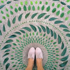 Photographer Emily Blincoe ( previously ) has created a creative photo series of food and plants perfectly organized by color. Land Art, Ephemeral Art, Photo Series, Natural Forms, Textures Patterns, New Art, Eye Candy, Instagram Posts, Nature