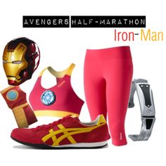 Iron Man: Disney Avengers Half Marathon Costume