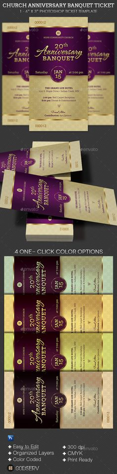 Vintage Event Ticket Template PSD Ticket Templates Pinterest - banquet ticket template