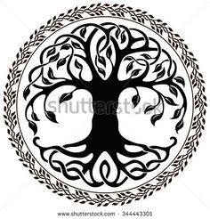 Find Vector ornament, decorative Celtic tree of life Stock Images in HD and millions of other royalty-free stock photos, illustrations, and vectors in the Shutterstock collection. Tree Of Life Images, Tree Of Life Artwork, Tree Images, Images Photos, Celtic Border, Willow Tree Figurines, Celtic Tree Of Life, Silhouette Clip Art, Book Of Kells