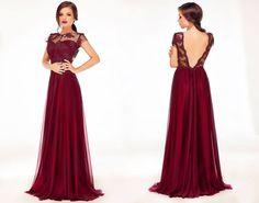 Long evening dress made from marsala silk veil with lace. #marsala #marsaladress #weddingdress #longeveningdress #eveninggown