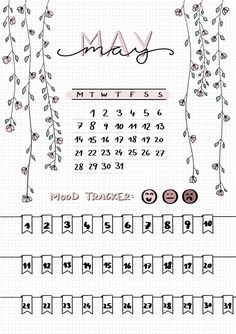 The monthly idea may be a bullet for the Mood Tracker - . - The monthly idea may be a bullet for the Mood Tracker – point Bullet Journal Tracker, Bullet Journal Page, Bullet Journal Notebook, Bullet Journal Spread, Bullet Journal Inspo, Bullet Journal Layout Ideas, Bullet Journal Ideas Templates, Bullet Journal Monthly Calendar, Bullet Journal Legend