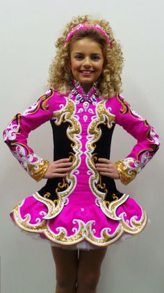 **Doire Dress Designs**Irish Dance Solo Dress Costume**