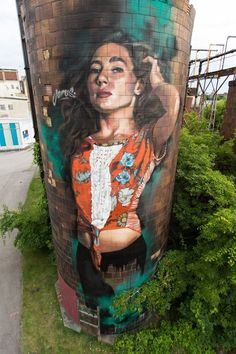 Street art by Young Jarus.