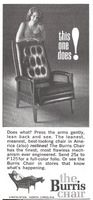 Burris Chair 1965 Ad Picture