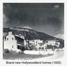 Talk about unlikely beginnings.Now iconic Hollywood sign originally built to promote a suburb called Hollywoodland