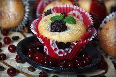 Soft, delicious cupcake.