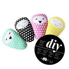 Soft Toys Sewing Kit - Paapii Babies - Pink