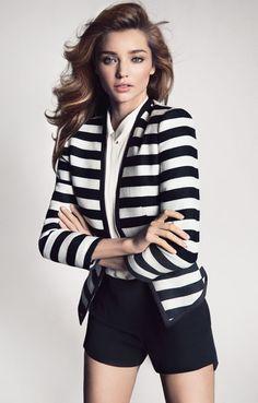 Miranda Kerr mango clothing spring summer collection 2013