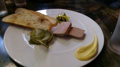 Pickles and Pate from Spero in Charleston, SC