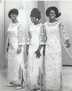 THE SUPREMES. gorgeous ladies.....