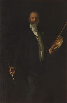 """John Singer Sargent (American, 1856–1925). William M. Chase, N. A., 1902. The Metropolitan Museum of Art, New York. Gift of the Pupils of Mr. Chase, 1905 (05.33)  