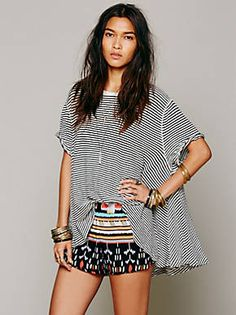 Free People Gemini Ikat Short
