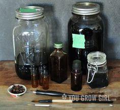 Homemade Black Walnut Ink