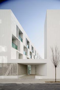 SPAIN - BARCELONA SERGI SERRAT 85 Sheltered Housing Units for Senior and Public Facilities. Barcelona