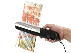USB shredder - The easy way to shred paper