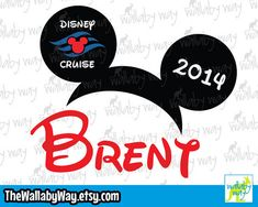 Mickey Ears Personalized - Disney Cruise Shirt Design or Clipart Homemade 3d Printer, Sculpture Projects, Cruise Outfits, Disney Star Wars, Mickey Ears, Disney Cruise, 3d Printing, Shirt Designs, Cruises