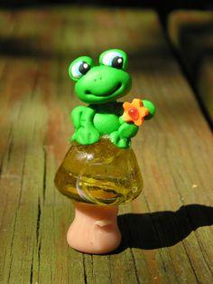 week 4: super cute clay frog