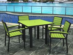 Plastic Table And Chair Patio Set