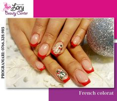 colored french for Christmas http://www.larybeautycenter.ro/